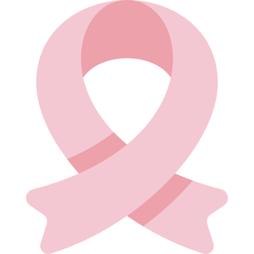 icon breast cancer ribbon